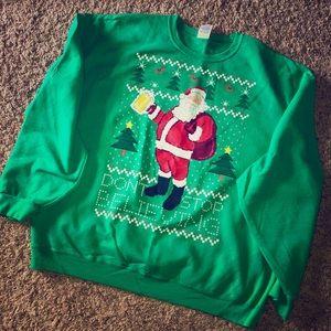 Ugly Christmas 🎄 Sweater Santa Sweatshirt